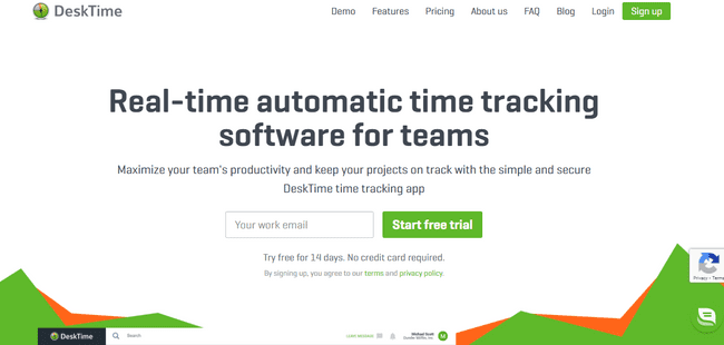 TimeCamp Alternatives DeskTime