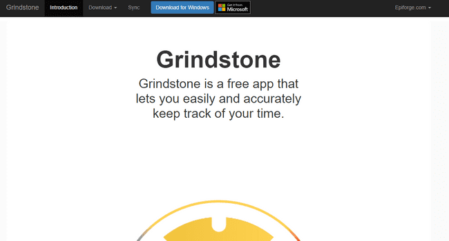 Best time tracking app for Windows Grindstone