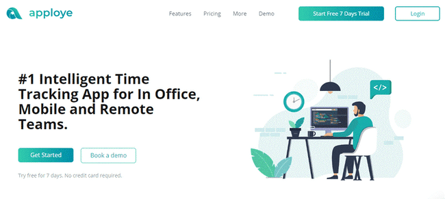 Time tracking App for in office, Mobile and Remote Teams